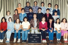 Richmond High School 1981-8L