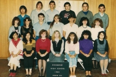 Richmond High School 1985-12J