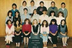 Richmond High School 1985-12J
